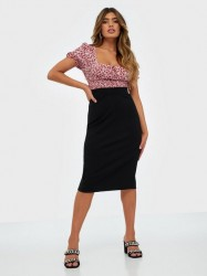 Selected Femme Slfshelly Mw Pencil Skirt Noos Midi nederdele
