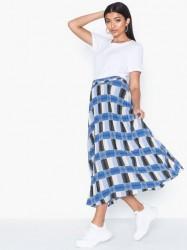 Selected Femme Slfwhistle Mw Ankle Skirt Ex Midi nederdele