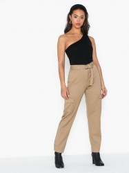 Selected Femme Slfwilma Hw Pant Ex Bukser