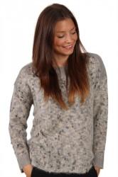 Selected Femme - Strik - SF Tyra LS Knit Pullover - Black W Black C