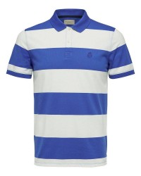 Selected Homme Haro Stribe polo 16056076 (BLÅ, XXLARGE)
