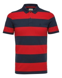 Selected Homme Haro Stribe polo 16056076 (RØD, LARGE)