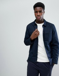 Selected Homme Jacket With Chest Pockets - Navy