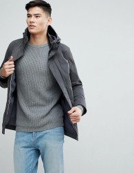 Selected Homme Parka - Grey
