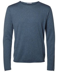Selected Homme Shddome crew neck 16047649 (GRÅ, XXLARGE)