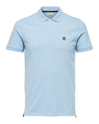 Selected Homme Shharo polo noos 16049517 (MØRKEGRØN, LARGE)