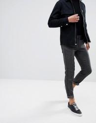 Selected Homme Skinny Smart Salt N Pepper Trousers - Black