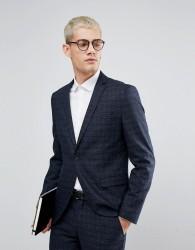 Selected Homme Skinny Wedding Suit Jacket - Navy