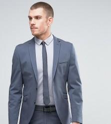 Selected Homme Slim Cotton Stretch Suit Jacket - Blue