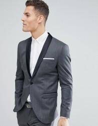 Selected Homme Slim Fit Tux Suit Jacket - Black