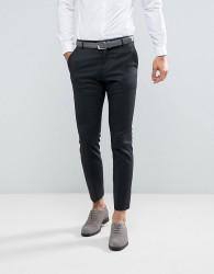 Selected Homme Slim Suit Trousers In Dark Grey - Grey