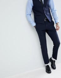 Selected Homme Slim Tuxedo Trousers - Navy