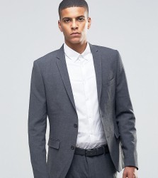 Selected Homme Suit Jacket in Super Skinny Fit - Grey