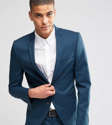 Selected Homme Suit Jacket in Super Skinny Fit with Stretch - Blue