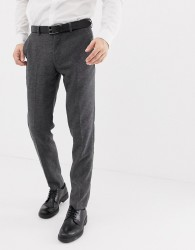 Selected Homme suit trouser with stretch in slim fit - Grey