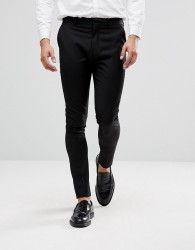 Selected Homme Super Skinny Trousers - Black