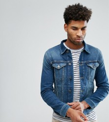 Selected Homme TALL Denim Jacket - Blue