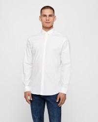 Selected Preston langærmet skjorte