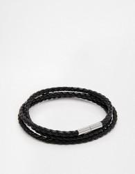 Seven London Woven Wrap Bracelet - Black