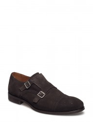Shdbolton Brogue Suede Monk Shoe