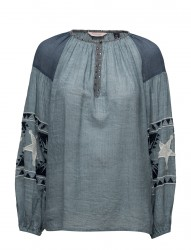Sheer Cotton Tunic Top With Special Embroideries