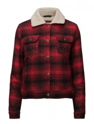Sherpa Jacket Red