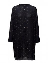 Shirt Dress W. Embroidered Stars