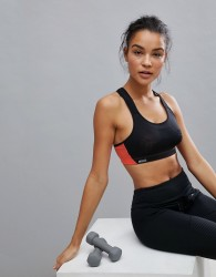 Shock Absorber Ultimate Fly Sports Bra B-F Cup - Black