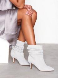 Shoe The Bear Agnete Slouchy Heel Light Grey