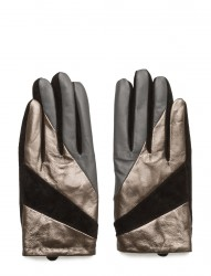Short Glove With Cut Lines