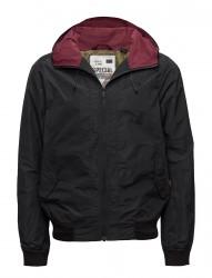 Short Hooded Nylon Jacket