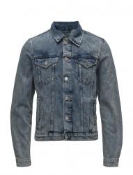 Shxjeffrey Light Blue Denim Jacket