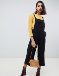 Side Party Lila relaxed dungarees - Black