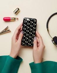 Signature Metallic Star Iphone 6 Case - Black