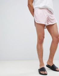 SikSilk shadow silk sprinter shorts in pink - Pink