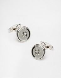 Simon Carter Button Cufflinks - Silver