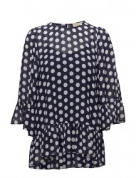 Simple Dot Rfle Top