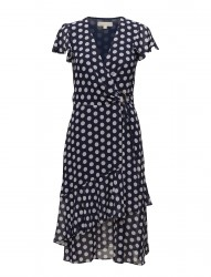 Simple Dot Wrap Dres