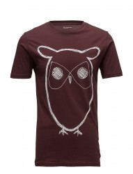 Single Jersey With Owl Print - Gots