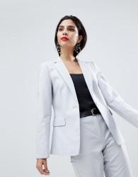 Sisley Classic Tailored Blazer - Grey