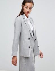 Sisley double breasted blazer - Grey