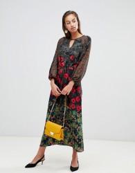 Sisley floral maxi dress - Multi