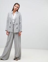 Sisley super wide leg trouser - Grey