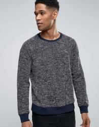Sisley Sweatshirt With Side Pockets - Navy
