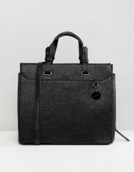 Sisley Textured Tote Bag - Black