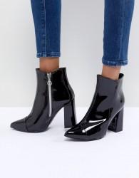 Sisley Vinyl Boots - Black