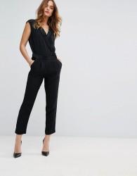 Sisley Wrap Jumpsuit - Black
