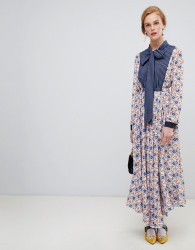 Sister Jane midaxi dress in mixed star and stripe print - Multi