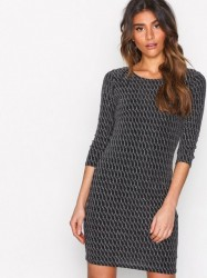 Sisters Point Gexo Dress Pailletkjoler Sort/Sølv