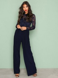 Sisters Point Gihi Jumpsuit Playsuits Marine